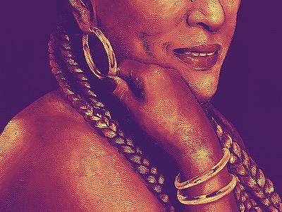 Yolanda Rivara  | Portrait portrait illustration portrait painting portrait art portrait venezuelan wacom photoshop color latin caribbean behance salsa guama uney text design illustration