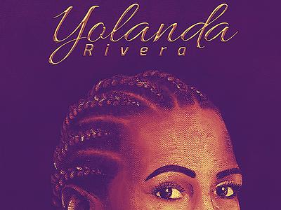 Yolanda Rivara | Portrait design illustration behance project behancereviews texture wacom photoshop venezuela salsa portrait painting portrait art portraits portrait behance