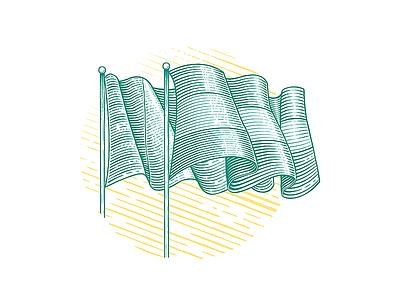 Language | engraving illustration illustrations wood engraving etch etched etching language website icon flag engraving engraved illustration