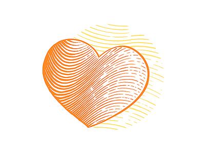 Donate | engraving illustration icon heart etching etched etch engraving engraved vector photoshop design illustration