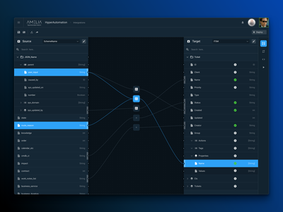 Visual Mapper vector map mapping flow design interface ui