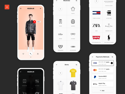 adzenje mobile design interface ui