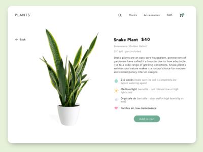 Plant Store Site