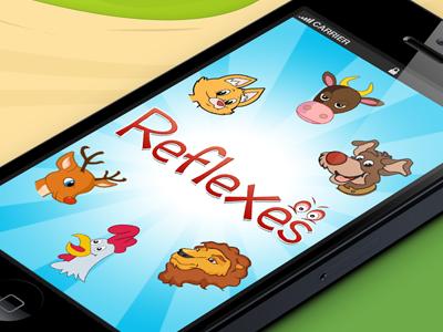 iPhone game app iphone game design illustration iphone app graphic design iphone