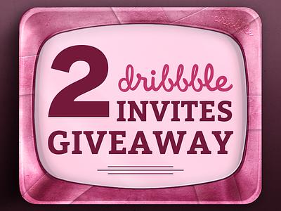 2x Dribbble Invites Giveaway dribbble invite dribbble invite invitation giveaway draft prospect