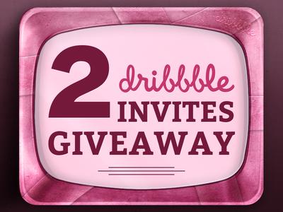 2x Dribbble Invites Giveaway