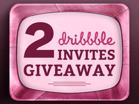 2x Dribbble Invites Giveaway