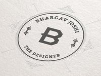 Just another letterpress logo designer graphic designer logo design
