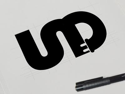 Something's Cooking logo typography monogram icon mark identity branding sketch sketchbook