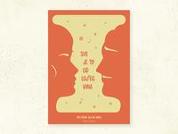 Minimal movie posters #1 - Tko pjeva zlo ne misli