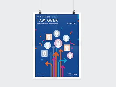 Poster Design for Citrix Techfair 2017