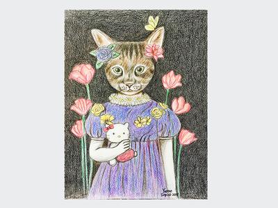 Yvette's drawing - Hello Kitty