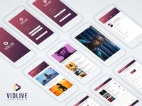 Videos on Demand - Vidlive Mobile App