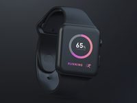 Health & Fitness App for Apple Watch