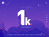 1000 Followers! ✌