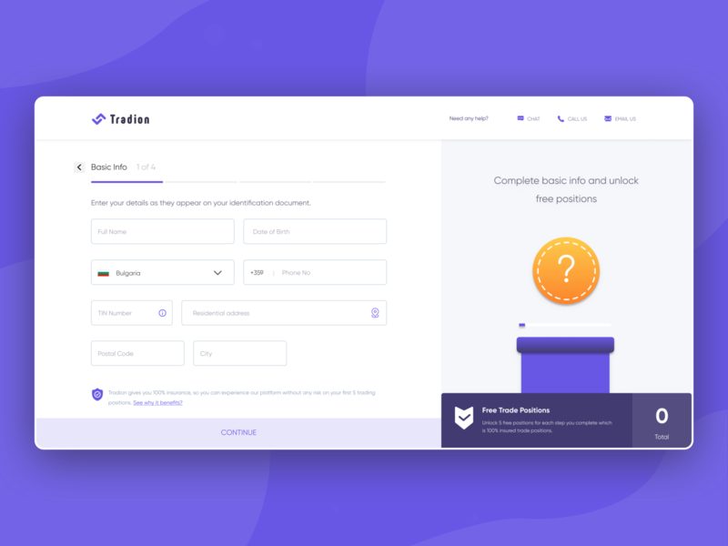 Step to get the basic Information of the user form gradient investments uidesign documents websites website design share market mutual funds trade trading kyc visual design web website ux clean interface ui design