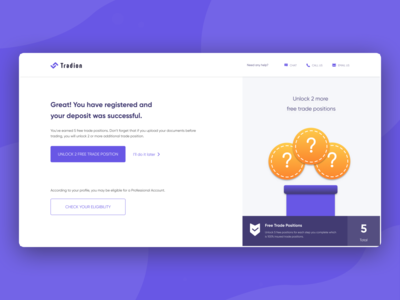 Registered and successful deposit to the account upload documents unlock deposite stockmarket investments invest trading trade kyc visual design vector illustration web website ux clean interface ui design