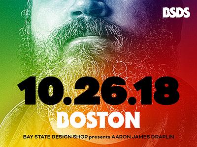 Bay State Design Shop presents Aaron Draplin workshop ddc bsds bay state design shop aaron draplin massachusetts boston event