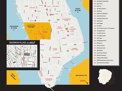 Bob Dylan Map Details map wayfinding circles design typography print halftone illustration folk music dylan bob dylan