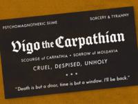 Vigo the Carpathian