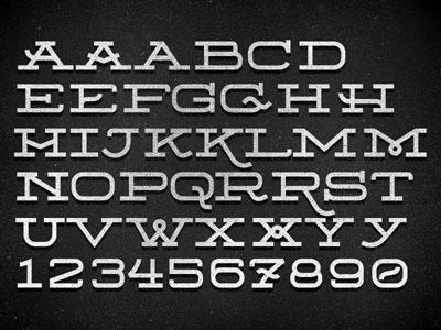 Jfd font2