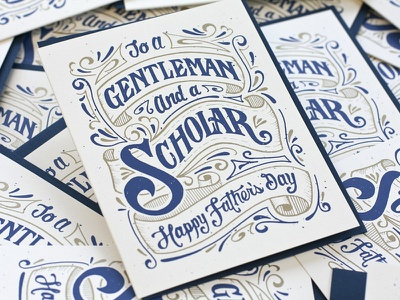 Fathers Day fathers day hand lettering 55his