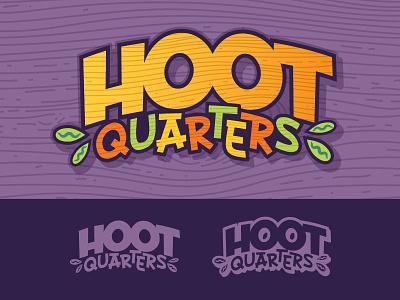 Hoot Quarters kids tv show logo