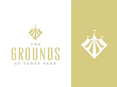The Grounds Logo 2 real estate symbol logo