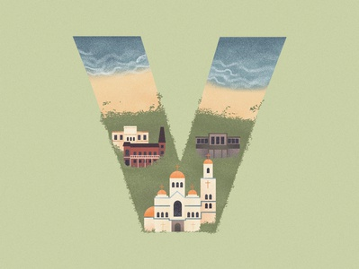 V is for Varna in Bulgar
