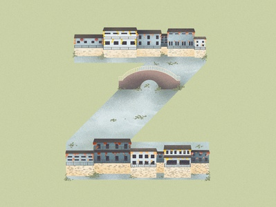 Z is for Zhouzhuang in China