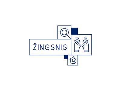 Žingsnis logotype