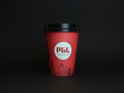 PGL coffee cup design packagedesign packages cupdesign package cup brand design branding dribbble