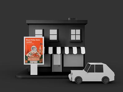 Shipzee campaign in Latvia billboard billboard design poster art poster illustration art illustration brand design dribbble