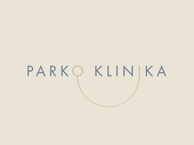 Parko klinika logotype dentist logo dentist identity minimal logotype brand design branding logo dribbble