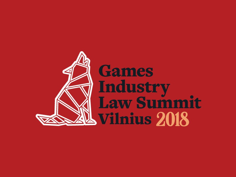 Games Industry Law Summit games vilnius legal law logo