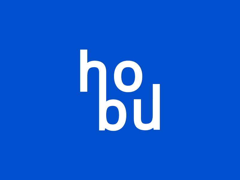 HoBu mark logo branding