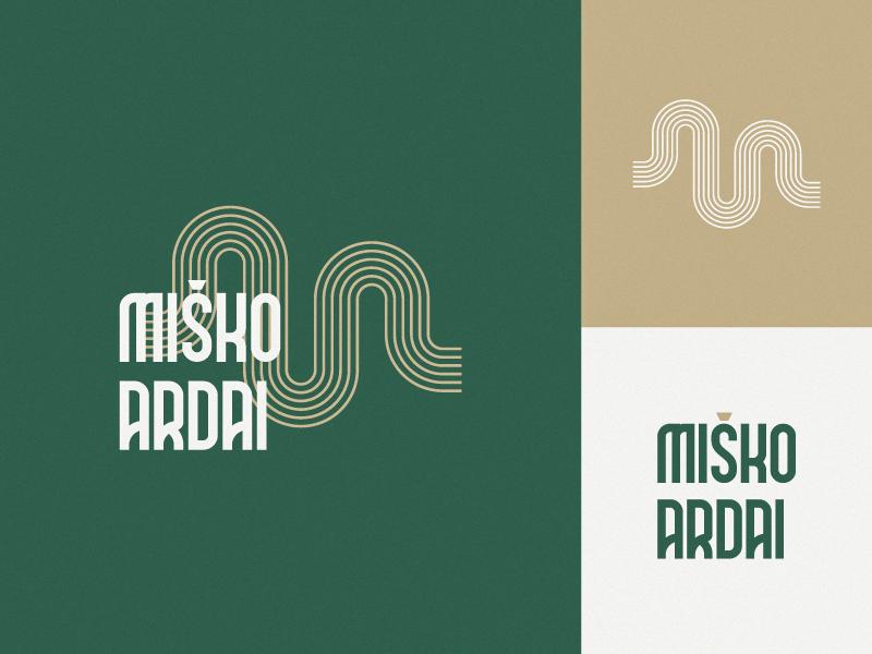 Misko Ardai housing logotype vector ai brand design mark branding logo