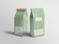 Le Café coffee package design