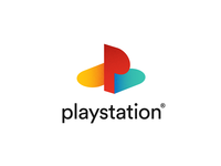 PlayStation Logo Redesign by Linijos sony redesign brand geometric isologo ps4 playoff rebound dribbble logotype design mark logo branding