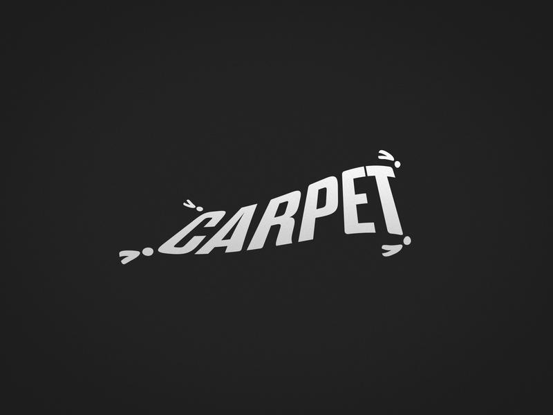 Carpet wordplay identity dribbble ai logotype brand design mark branding logo