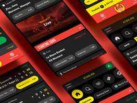 Rizk Sportsbook UI Design