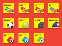 Rizk Sportsbook Free Bet Products Icons