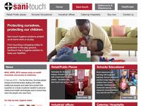 Sani Touch Landing Page