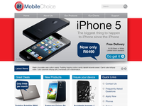 Mobile Choice Homepage