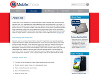 Mobile Choice Secondary page