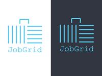Jobgrid Logo Concept 01 - Square