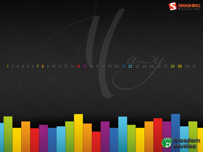 Wallpaper » The Freedom Of Colour  wallpaper dark colorful may strips