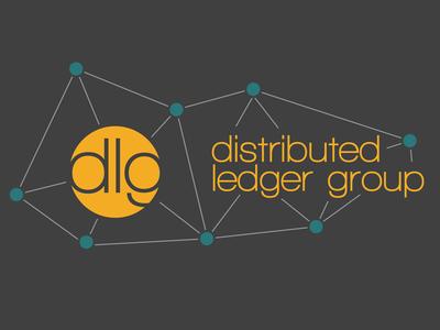 DLG Logo version 1 on dark background