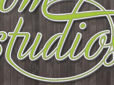 Freedom Studios Typography Wallpaper Detail