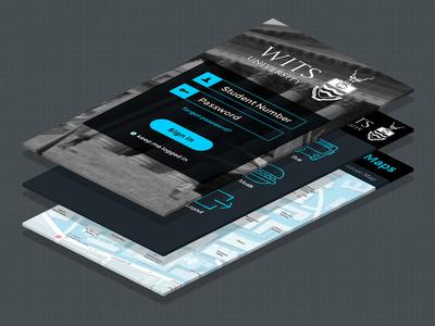 Wits University Mobile App - alternate